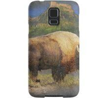 brief altercation - bison and prairie dog Samsung Galaxy Case/Skin