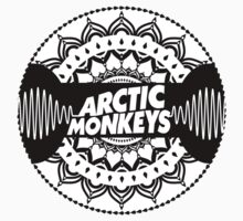Arctic Monkeys | Circle Mandala Logo Print by cbazoe