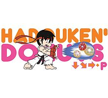 HADOUKEN' DONUTS by thDoctor10