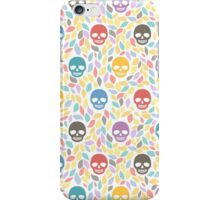 Funny sugar skulls iPhone Case/Skin