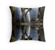 King Penguin, Antarctic, Montreal Biodome Throw Pillow