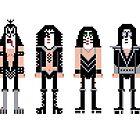 Pixel Kiss Rock Band by Sergei Vozika