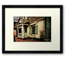 This Old House Is Haunted by Ghosts Framed Print