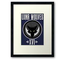 Luna Wolves XVI - Warhammer Framed Print
