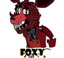 Foxy | Five Nights At Freddy's Design by KosmicKreep