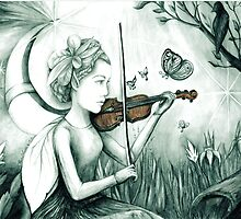 The Fairy and the Butterfly Notes by artbyrachelluca