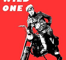The Wild One - Print/Poster by LetThemEatArt
