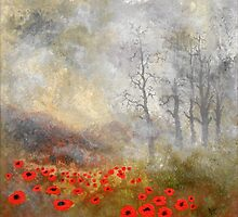 "Artwork 1441 ""Poppies"" by Paul Chambers"