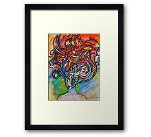 We Are Real Framed Print