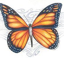 Monarch Butterfly by artbyrachelluca