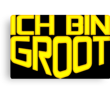 Ich Bin Groot Canvas Print