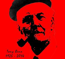 Che Tony Benn - Print by LetThemEatArt
