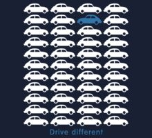Drive different - Beetle (white) Kids Clothes