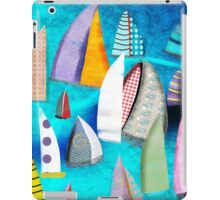 Regatta Segelbilder Marinemalerei iPad Case/Skin