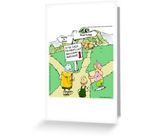 All Paths Lead Somewhere Heavenly Greeting Card