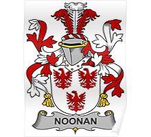Noonan Coat of Arms (Irish) Poster