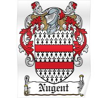 Nugent Coat of Arms (Westmeath, Ireland) Poster