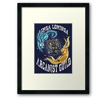 Arcanist Guild FFXIV  Framed Print