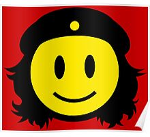 Che Guevera Smiley Poster