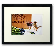 """The Connoisseur"" Framed Print"