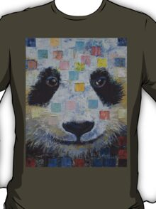 Panda Checkers T-Shirt