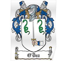 O'Dea Coat of Arms (Clare) Poster
