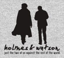 [Sherlock] - Holmes & Watson by ladysekishi