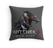 The Witcher 3: Wild Hunt Throw Pillow
