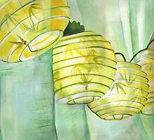 Japanese Paper Lanterns by patriciaarnold