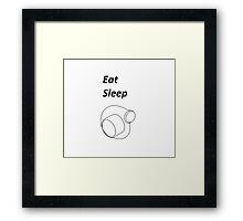 Eat Sleep Boost Framed Print