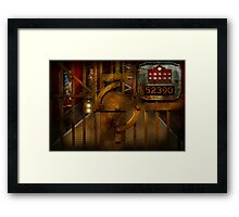 Steampunk - Dystopia - The Vault Framed Print