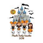 Custom order Disney Halloween ~ Martin Family  by sweetsisters