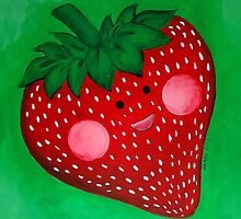 The Happy Strawberry by Megan Mars