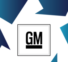 GM Recall and Repair Logo Parody Sticker