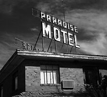 Route 66 - Paradise Motel by Frank Romeo