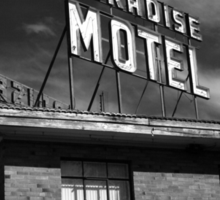 Route 66 - Paradise Motel Sticker