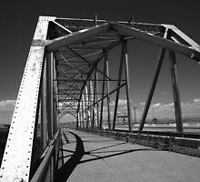 Route 66 Rio Puerco Bridge by Frank Romeo