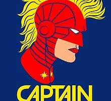Captain Marvel by VicNeko