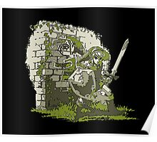 LOZ: Back Against The Wall Poster