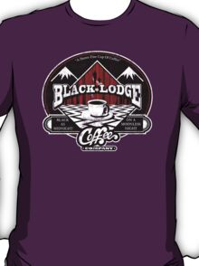 Black Lodge Coffee Company (distressed) T-Shirt