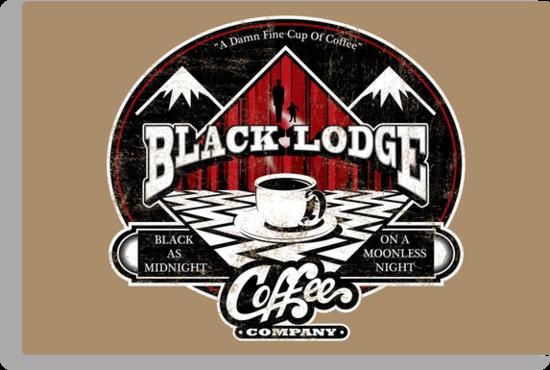 Black Lodge Coffee Company (distressed) by Mephias