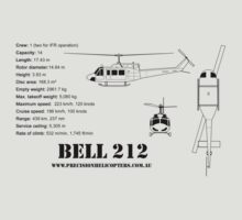 Bell 212 Twin Huey Helicopter by PrecisionHeli