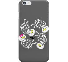 Maternity Skeleton Quints iPhone Case/Skin