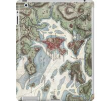 Vintage Map of Boston Harbor (1807) iPad Case/Skin