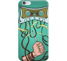 Evil tape iPhone Case/Skin