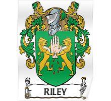 Riley Coat of Arms (Irish) Poster