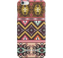 Ethnic colorful pattern with arrows iPhone Case/Skin