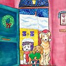 Three jolly dogs by LiseRichardson