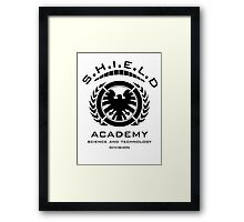 S.H.I.E.L.D Academy > Science and Technology Division Framed Print