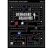 PAC & DRAGONS Photographic Print